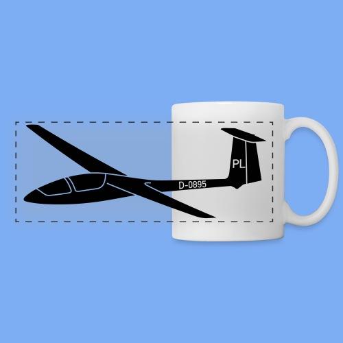 Segelfliegen Segelflieger Geschenk Pilot Jantar - Panoramic Mug