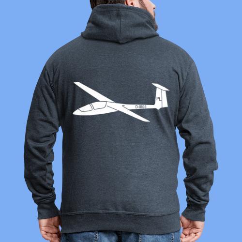 Segelfliegen Segelflieger Geschenk Pilot Jantar - Men's Premium Hooded Jacket