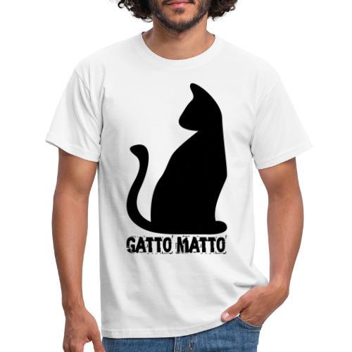 il Gatto Matto Logo T-shirt Uomo - Maglietta da uomo