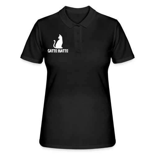 il Gatto Matto Polo Donna - Women's Polo Shirt