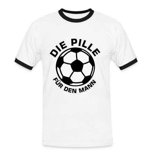 T-Shirt Boy - Männer Kontrast-T-Shirt