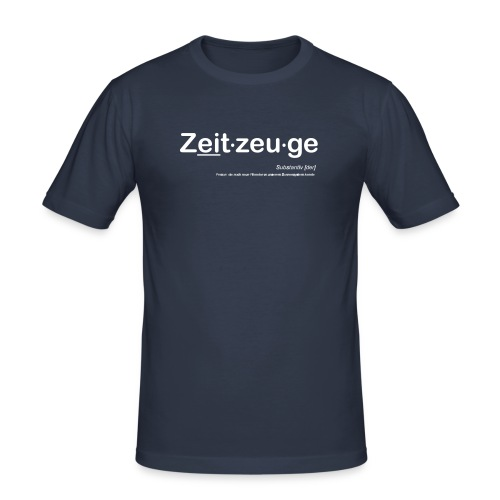 Zeitzeuge - Männer Slim Fit T-Shirt
