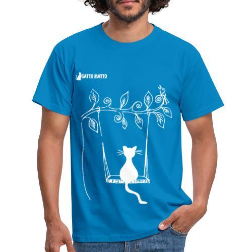 il Gatto Matto T-shirt Uomo Seesaw - Maglietta da uomo