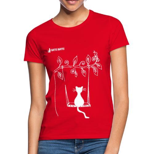 il Gatto Matto T-shirt Donna Seesaw - Maglietta da donna
