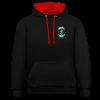 Hoodie - Freakdali contrast hoodie