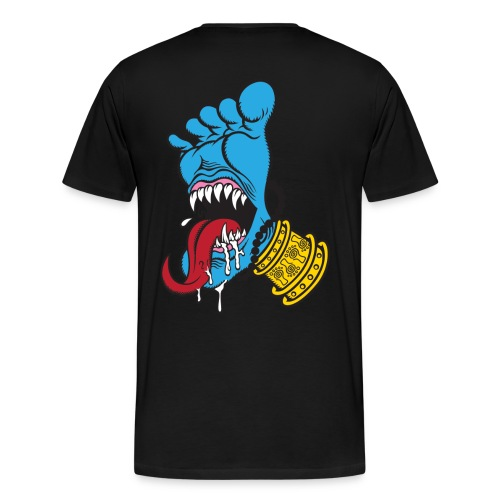 Screaming Foot by Catana.jp - Men's Premium T-Shirt