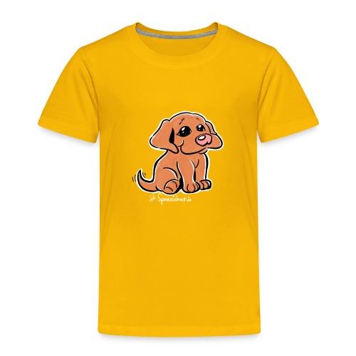 süßer Welpe - Kinder Premium T-Shirt
