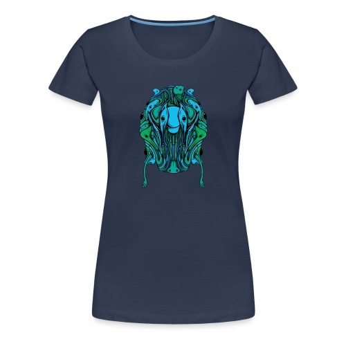 Blobcat Design - Women's Premium T-Shirt