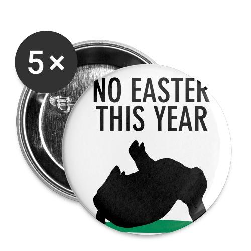 Ein No easter this year button - Buttons klein 25 mm