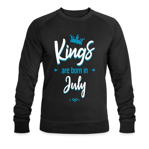 Kings are born in July - Sweat-shirt bio Stanley & Stella Homme