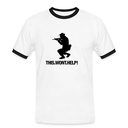 fun shirt - Männer Kontrast-T-Shirt