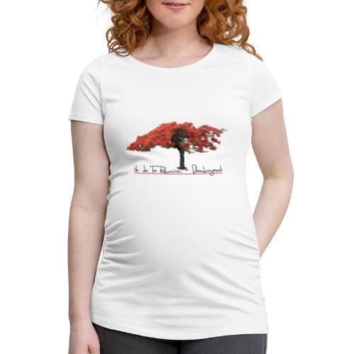 T-shirt de grossesse Femme Flamboyant - T-shirt de grossesse Femme