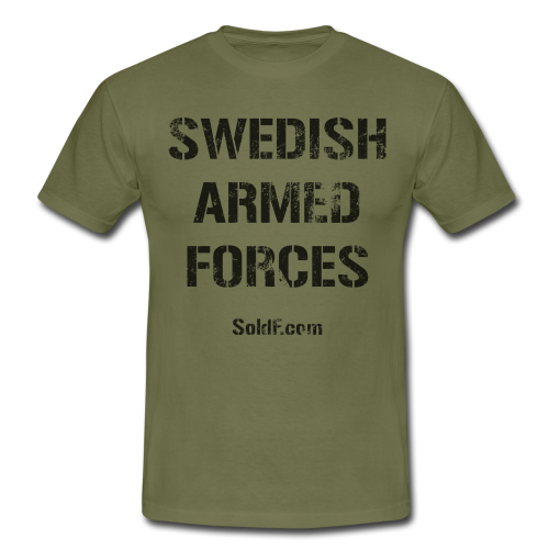 Swedish Armed Forces - SWE Flagga - T-shirt herr