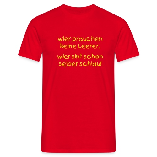Männer T-Shirt - Abschlussshirt z. b. THP, abi, berufsabschluss...