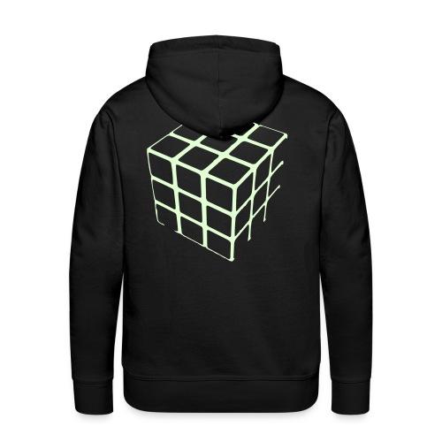 CUBE - Sweat-shirt à capuche Premium pour hommes