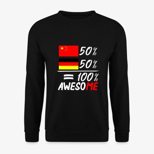 Männer Pullover 50% Chinesisch 50% Deutsch - Männer Pullover