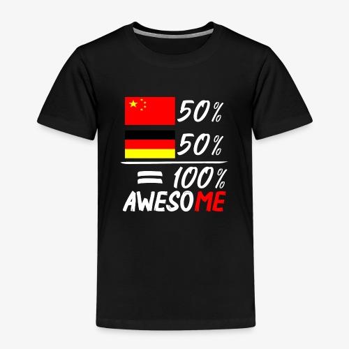Kinder Premium T-Shirt 50% Chinesisch 50% Deutsch - Kinder Premium T-Shirt
