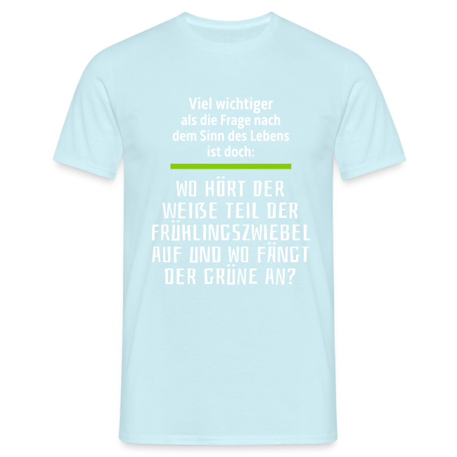 Küchen Philosophie Kochen Essen Sprüche T-Shirt