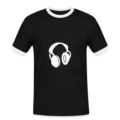 Casque - T-shirt contrasté Homme