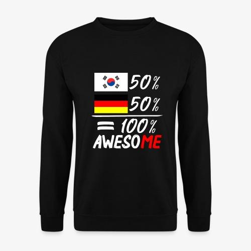 Männer Pullover 50% Koreanisch 50% Deutsch - Männer Pullover