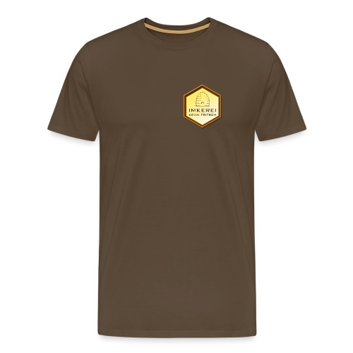 Imkerei Kevin Fritsch, Shirt mit Brustlogo - Männer Premium T-Shirt