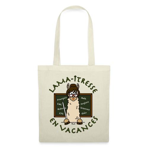 Tote bag Lama-îtresse cadeau instit, maîtresse Lama - Tote Bag