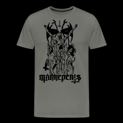 Eyes of Hell For Rapists - Men's Premium T-Shirt