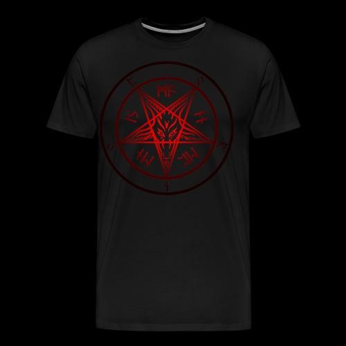 Baphomet of Hell for Rapists - Men's Premium T-Shirt