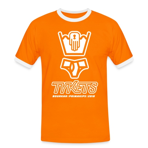 Tycout Tykets Primakips 2018 H - T-shirt contrasté Homme