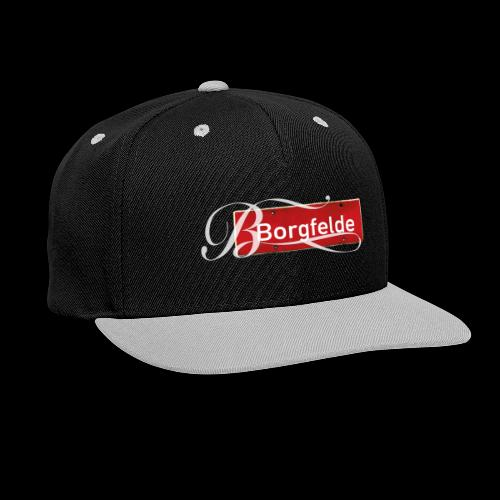 Mein Hamburg, mein Borgfelde meine Kiez-Cap - Kontrast Snapback Cap