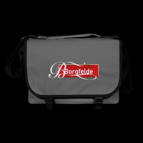Mein Hamburg, mein Borgfelde meine Kiez-Tasche - Umhängetasche