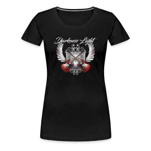Darkness Light Women Premium T-shirt - Women's Premium T-Shirt