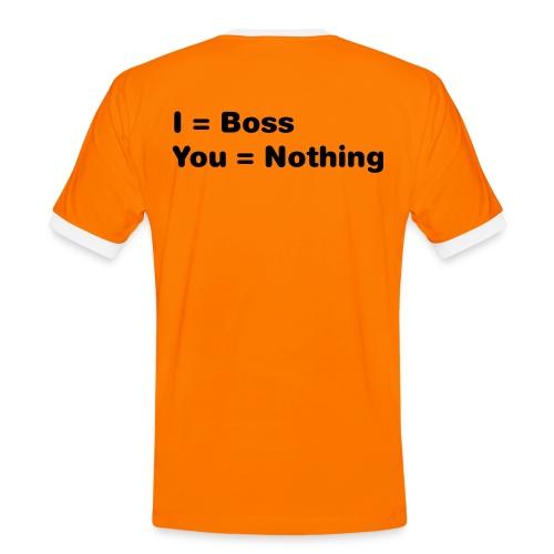 boss - Maglietta Contrast da uomo