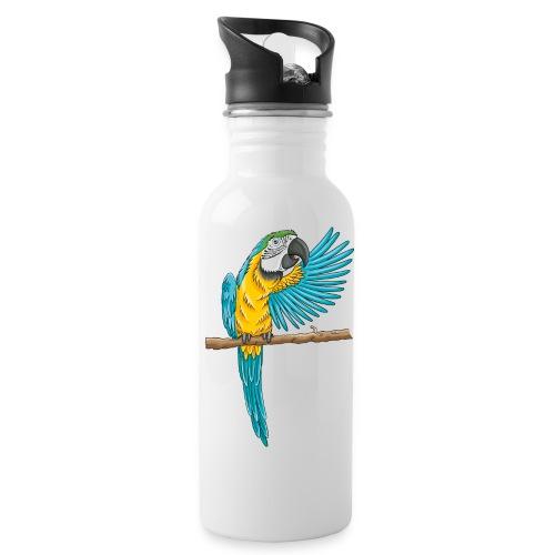 pfiffiger Papagei - Trinkflasche  - Trinkflasche