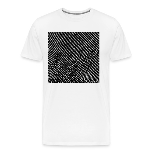 Männer Premium T-Shirt - Side B artwork of Sascha Dive - Jet Black | Rotary Cocktail Recordings 049