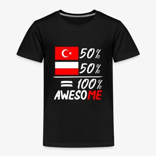 Kinder Premium T-Shirt 50% Polnisch 50% Türkisch - Kinder Premium T-Shirt