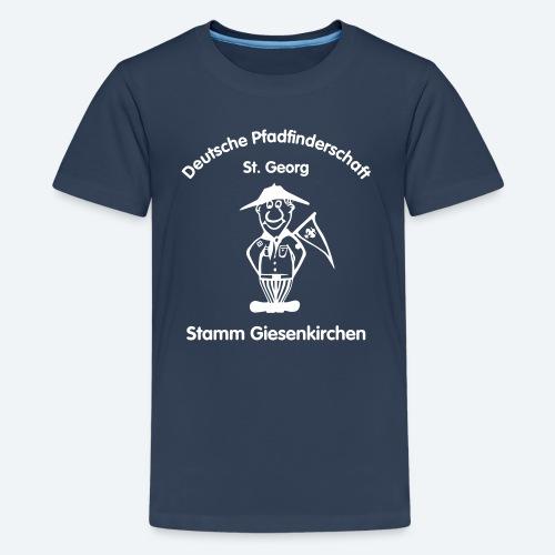 T-Shirt Teenager mit Logo - Teenager Premium T-Shirt