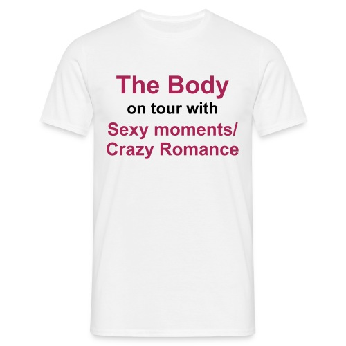 The Body ON TOUR - T-skjorte for menn