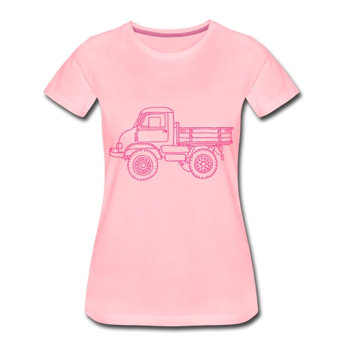 Lastwagen - Frauen Premium T-Shirt