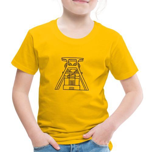 Zeche Zollverein Essen - Kinder Premium T-Shirt