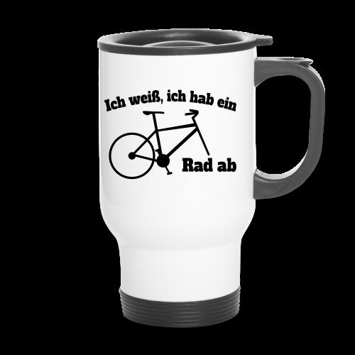 Rad ab Radfahrer Fahrrad Spruch Thermobecher - Thermobecher