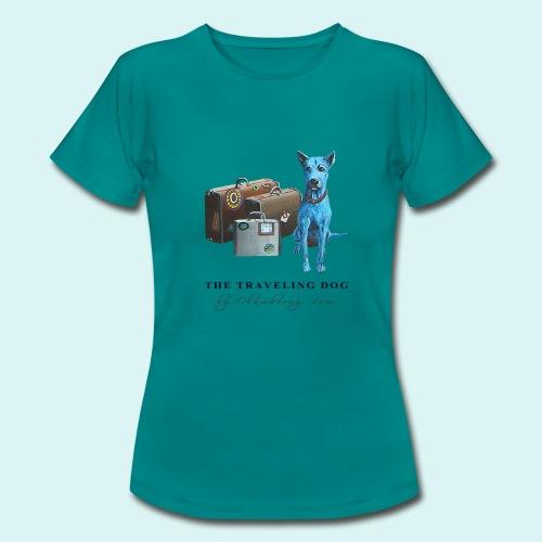 Laly Blue Big - Ladies - Women's T-Shirt
