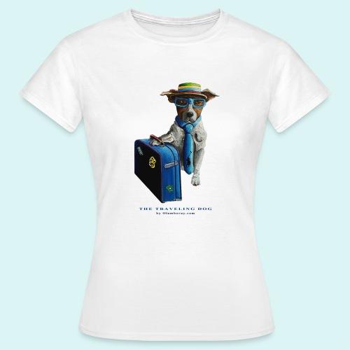 Traveling Dog - Ladies - Women's T-Shirt
