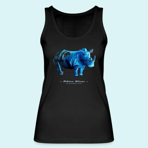 Rhino Blues- Ladies - Women's Organic Tank Top by Stanley & Stella