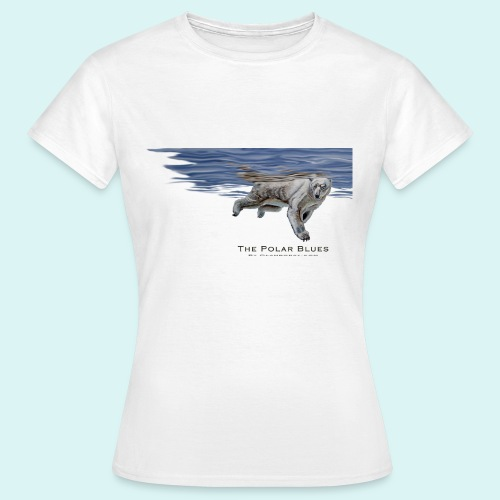 The Polar Blues - Ladies - Women's T-Shirt