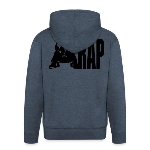 RAP - Männer Premium Kapuzenjacke