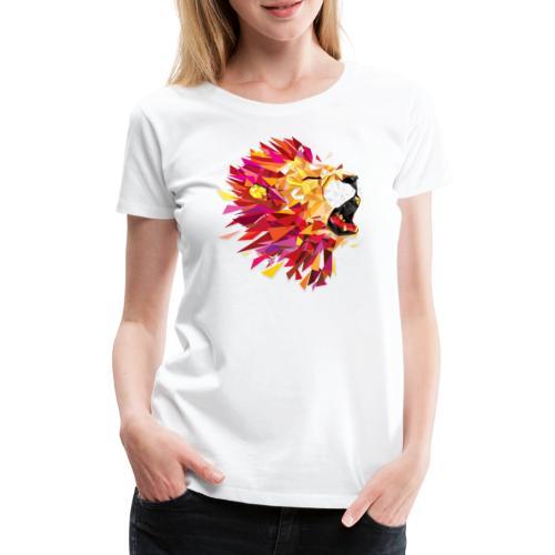 Lion - T-shirt Premium Femme