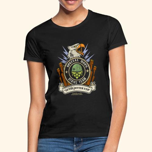 Craft Beer Fan T Shirt Special Hops Strike Team - Frauen T-Shirt