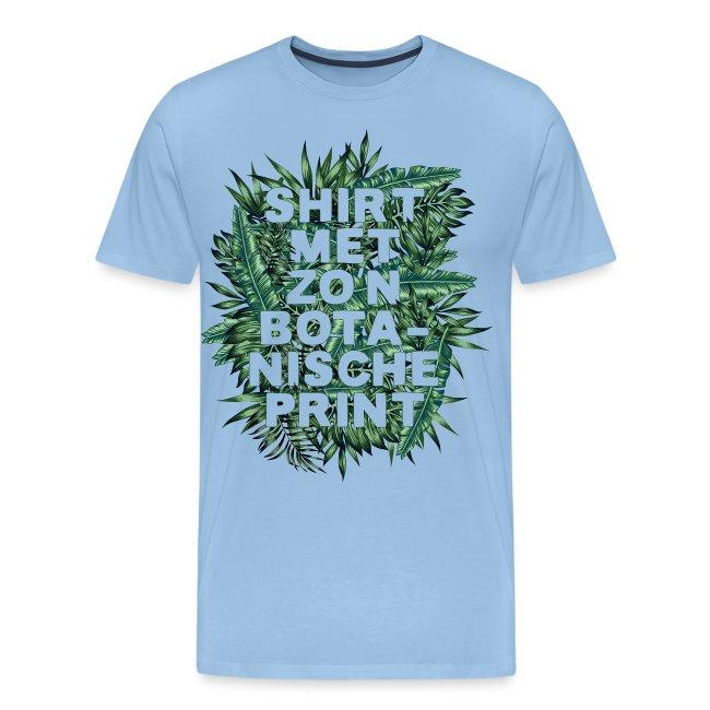 Botanisch mannen premium t-shirt