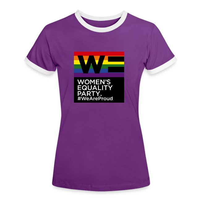 WE Pride t-shirt in purple